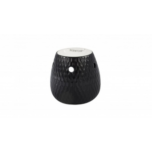 Burner Vase Tear Black